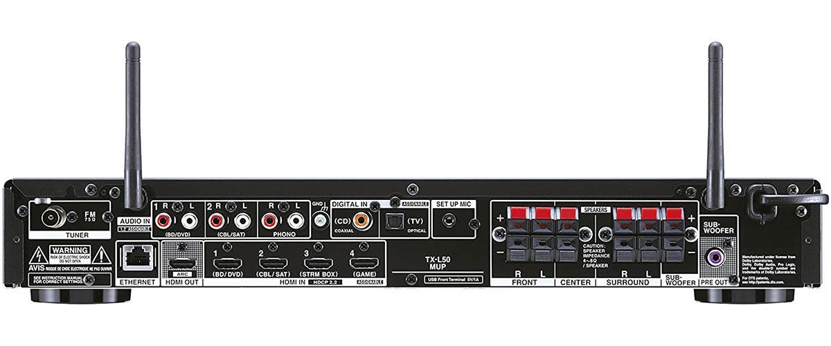 Onkyo TX-L50 Rückansicht