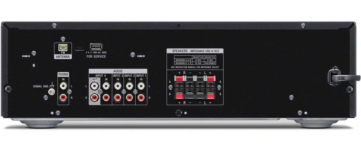 Sony STR-DH190 Rückansicht