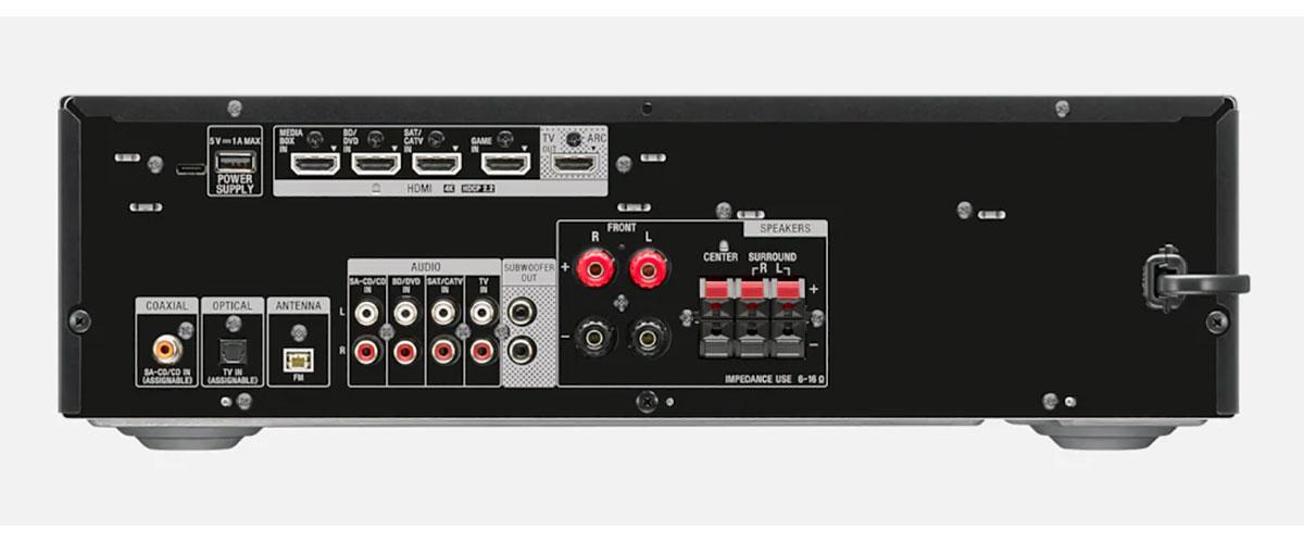 Sony STR-DH590 Rückansicht