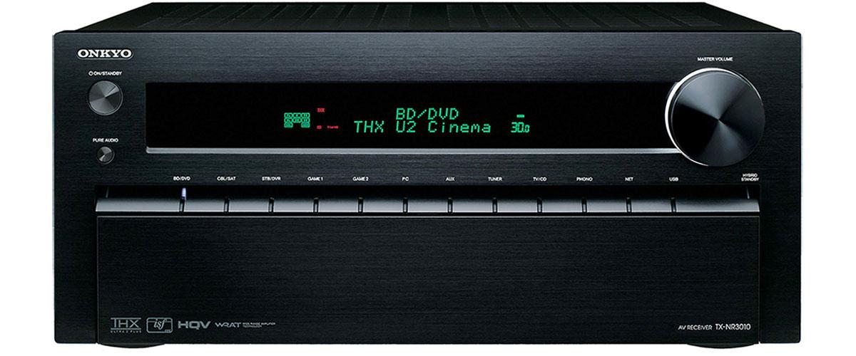 Onkyo TX-NR 3010 Vorderansicht