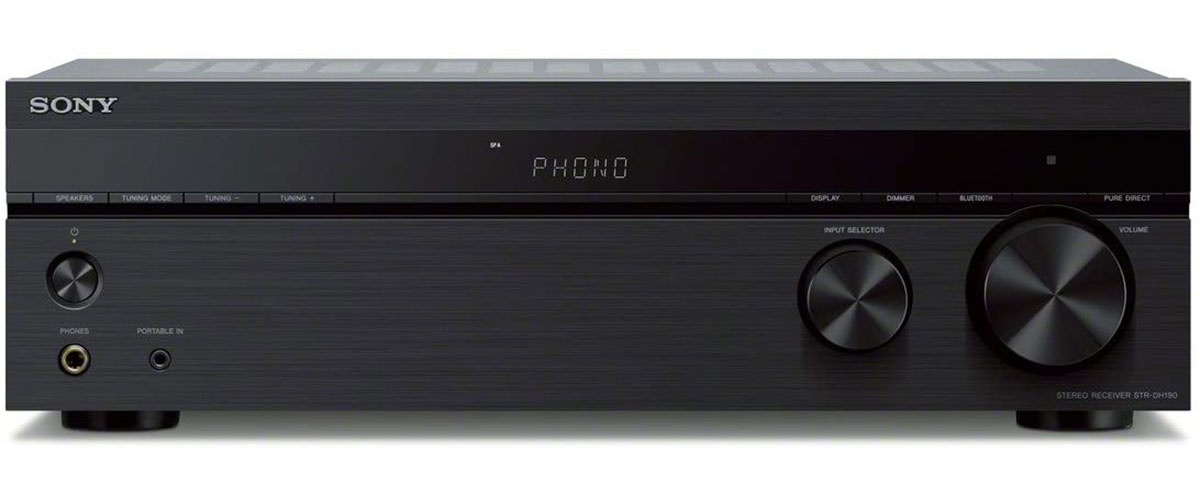 Sony STR-DH190 Vorderansicht