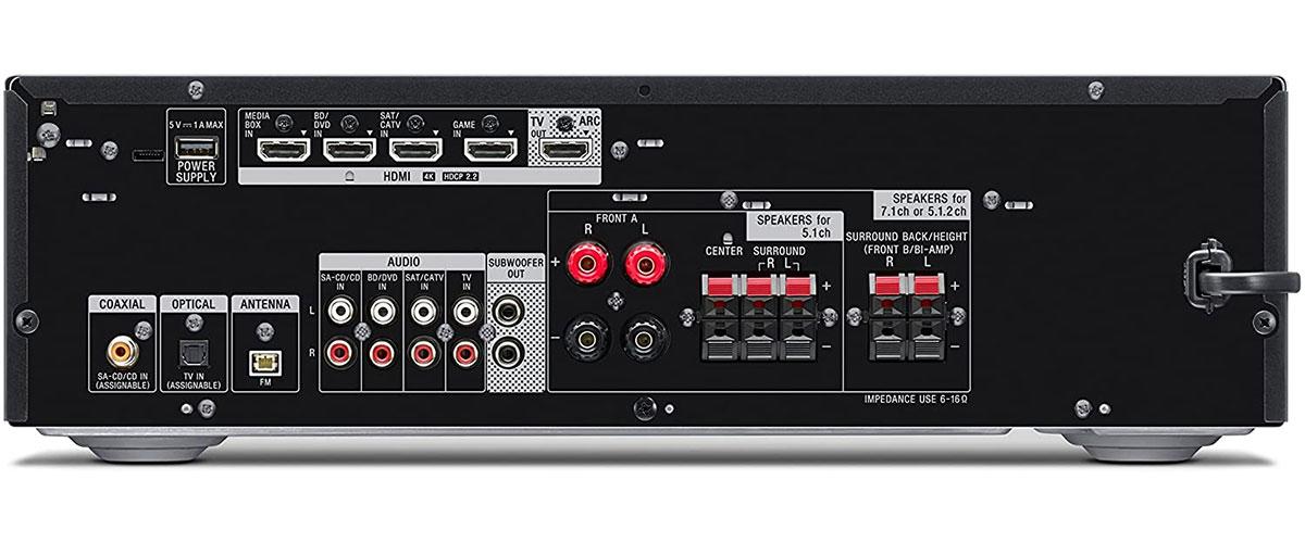 Sony STR-DH790 Rückansicht