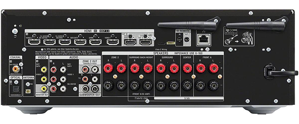 Sony STR-DN1080 Rückansicht